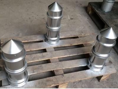 永磁筒芯 尖顶式永磁筒 不锈钢磁筒 永磁筒 永磁除铁器