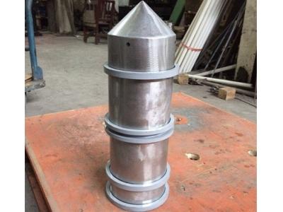 无锡永磁筒 尖顶式永磁筒 永磁磁芯 不锈钢磁筒 永磁除铁器