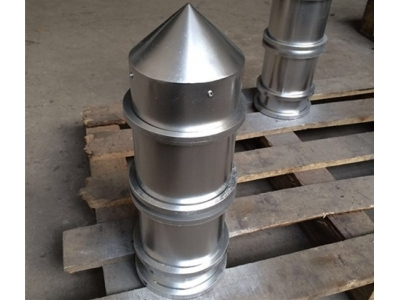 不锈钢磁筒 永磁除铁器 永磁筒磁芯 尖顶磁筒 磁性筒