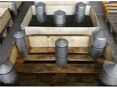尖顶式磁性筒 永磁磁芯筒 不锈钢磁筒 永磁除铁器 磁性筒